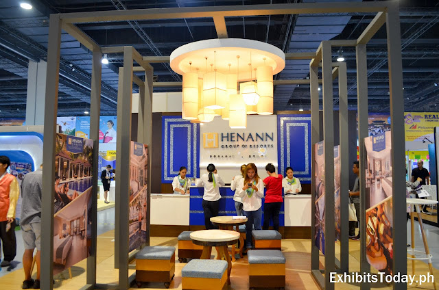 Henann Group of Resorts Exhibit Booth
