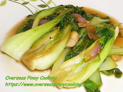 Chinese Cabbage Adobo