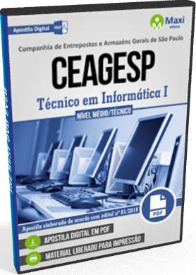 Apostila CEAGESP 2018 Técnico em Informática I