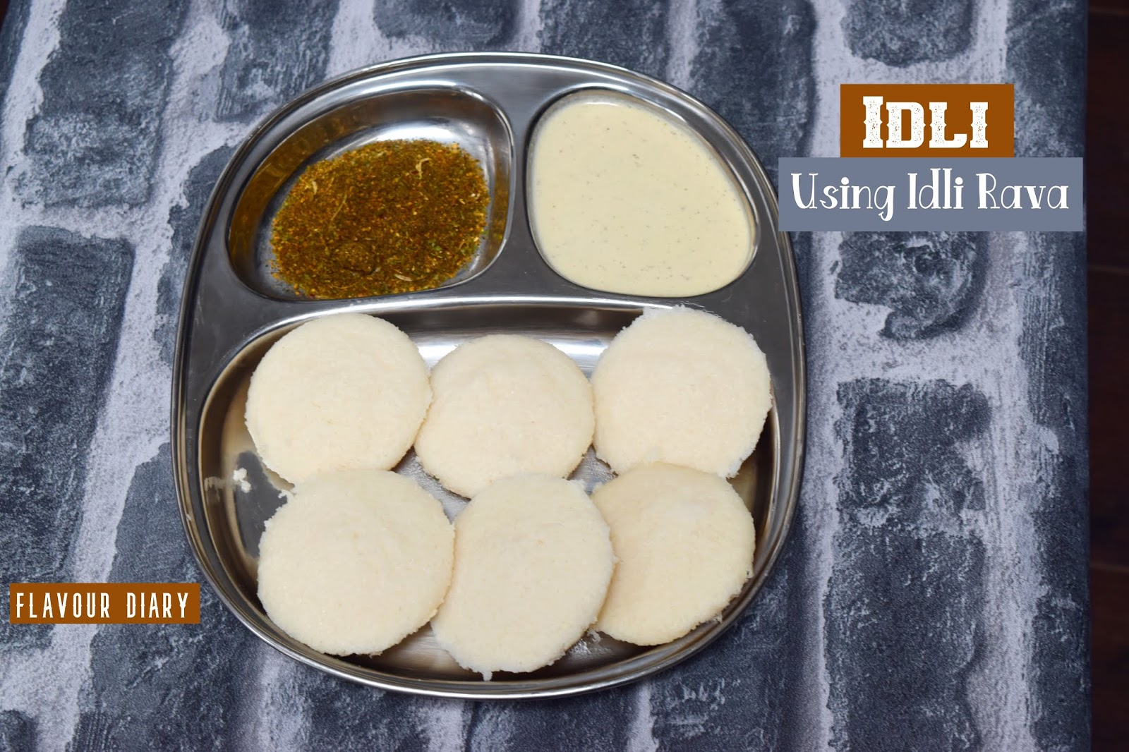 Idli recipe using Idli Rava