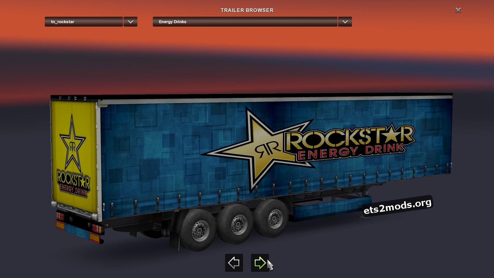 Trailer - Rockstar Energy