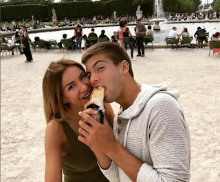 Borna Coric With Ex Girlfriend Valentina Miletic During Happier Times