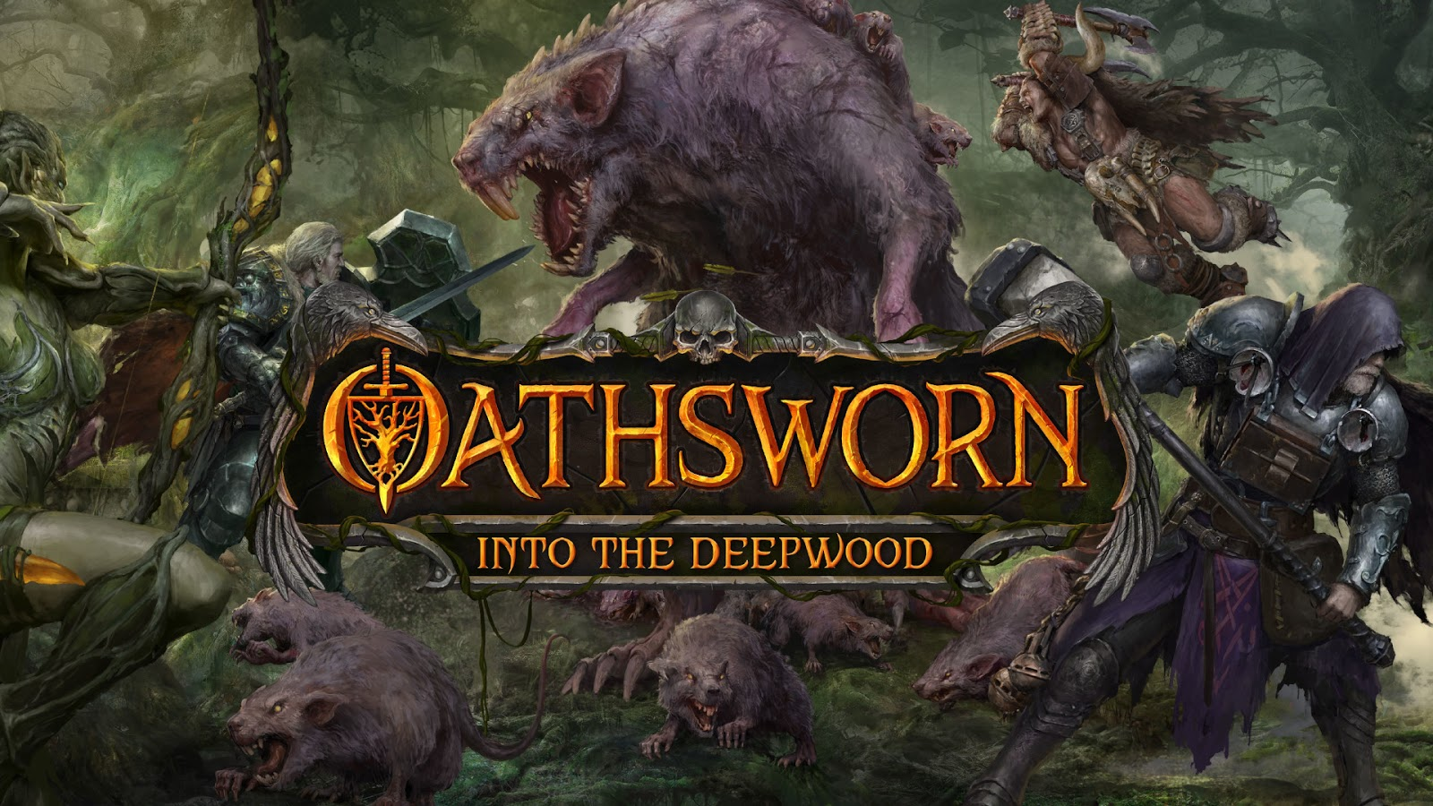 2020 Most Anticipated Games Best Arriving from Kickstarter Oathsworn Into Deepwood