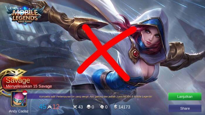 Cara mengalahkan natalia pada game mobile legends