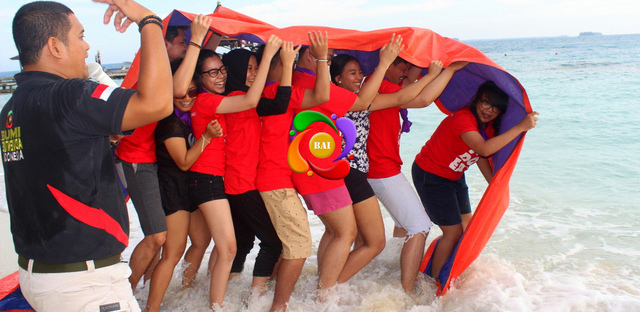 OUTBOUND KONSEP PANTAI