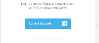 Scroll down and you will see a Login Facebook button. Click on it.