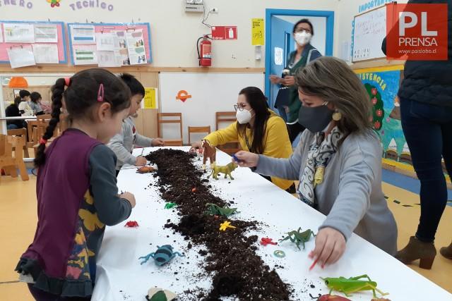 Niños retornan a jardines de Integra en la región