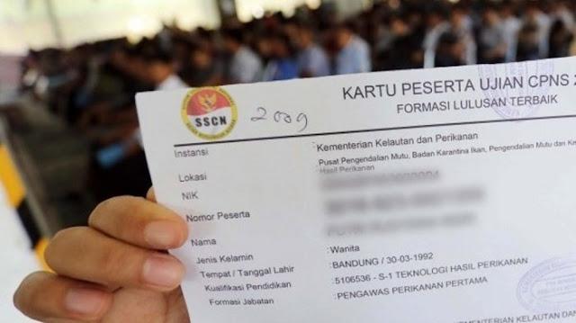 Bagaimana cara mencetak ulang Kartu Informasi Akun SSCASN 2021 Sobat Loker Rembang ?