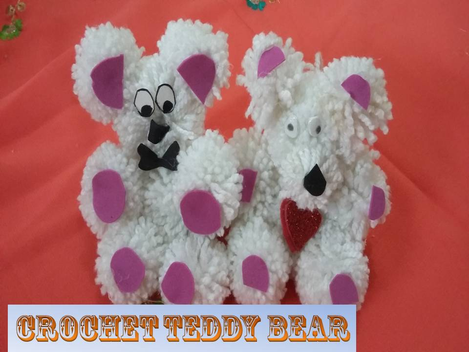How To Make Pom Pom Teddy Bears