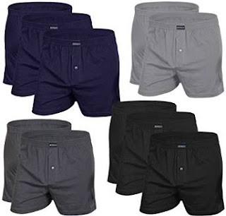 Just Pay £39.95 for 10 Men's Boxer Shorts with Front Opening (AMERICAN STYLE DONZO)