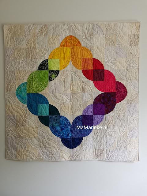Color Love quilt