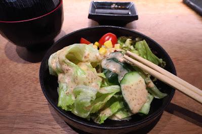 Koji Sushi Bar, salad