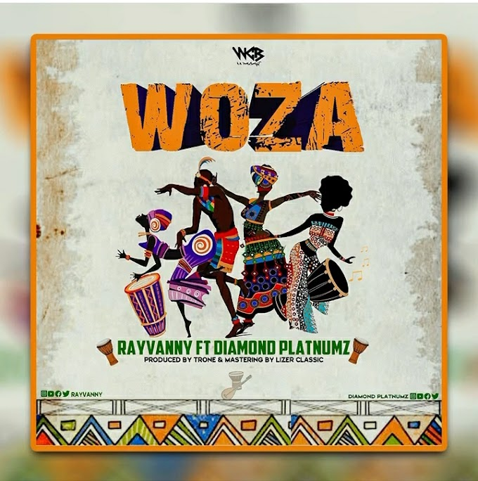 AUDIO | Rayvanny Ft. Diamond Platnumz - Woza | Download