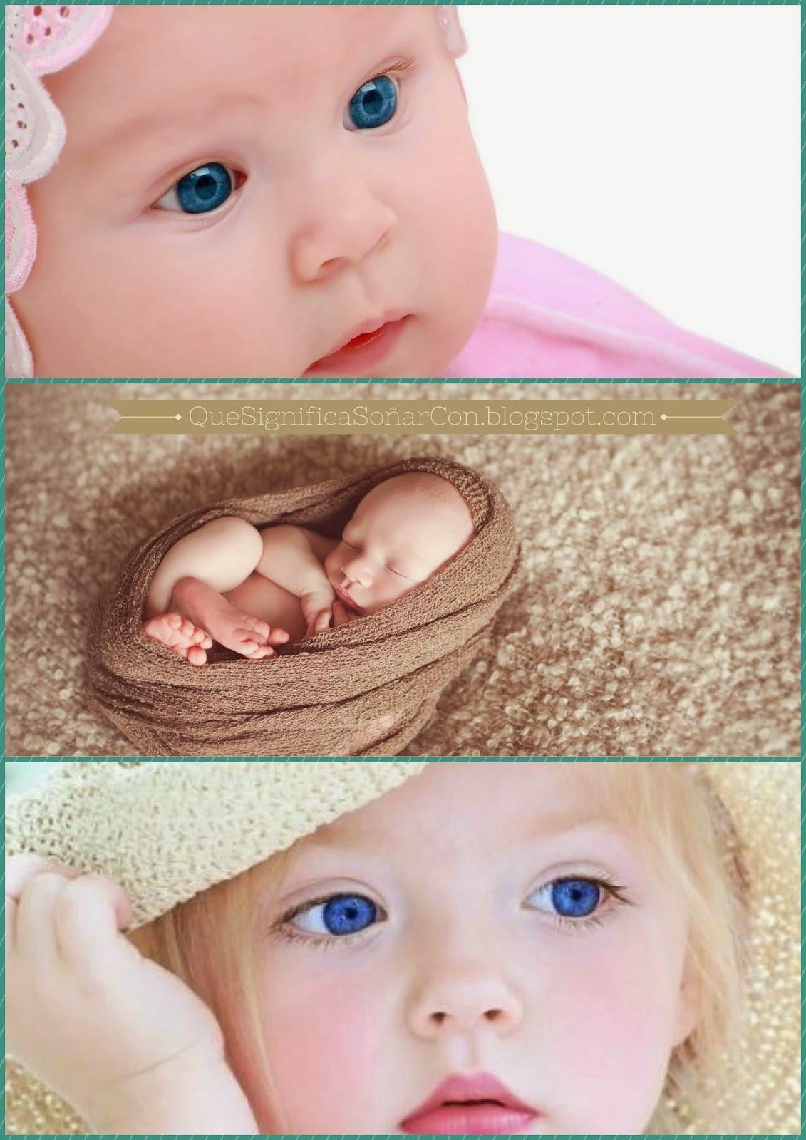 QUE SIGNIFICA SOÑAR CON BEBE MUJER - Sueños con bebita - BABY CUTE GIRL