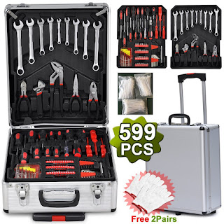 Product Details Yaheetech 599 Pcs Mechanic Tools Kit
