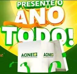 Cadastrar Promoção ACINE Nova Esperança 2019 - Presente O Ano Todo