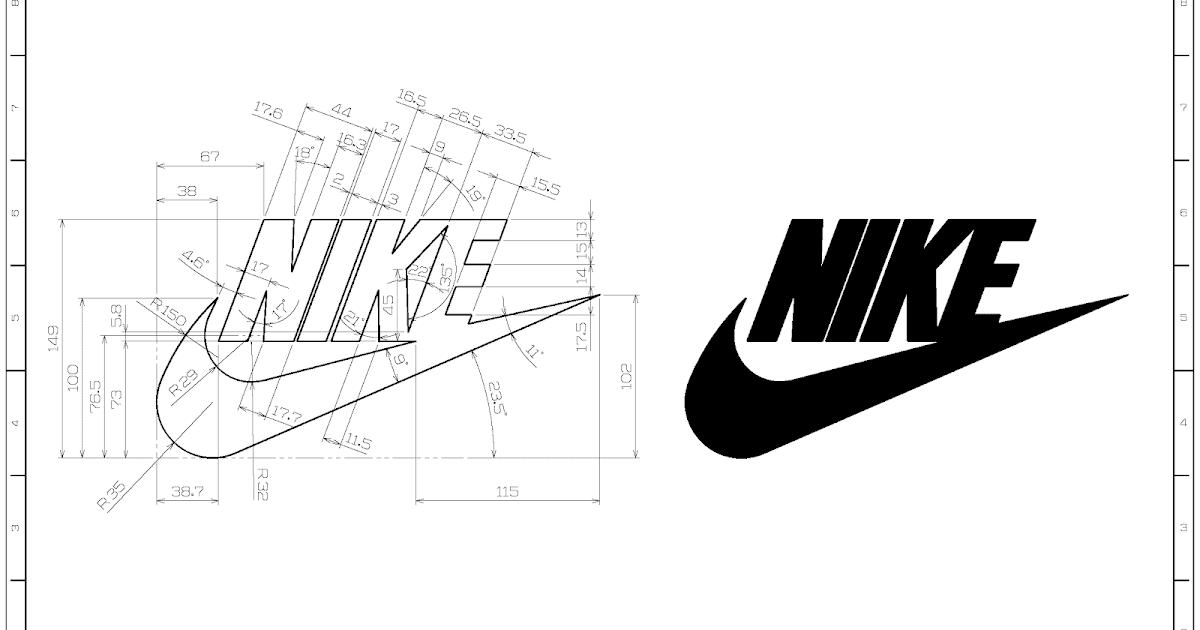 Popular 2d Cad Exercises Nike Logo Studycadcam