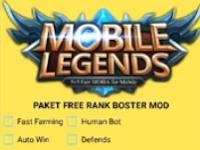 APK MOD Inject Rank Booster Mobile Legends Patch Terbaru