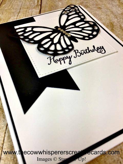 Card, Simple Thinlits Dies, Happy Birthday