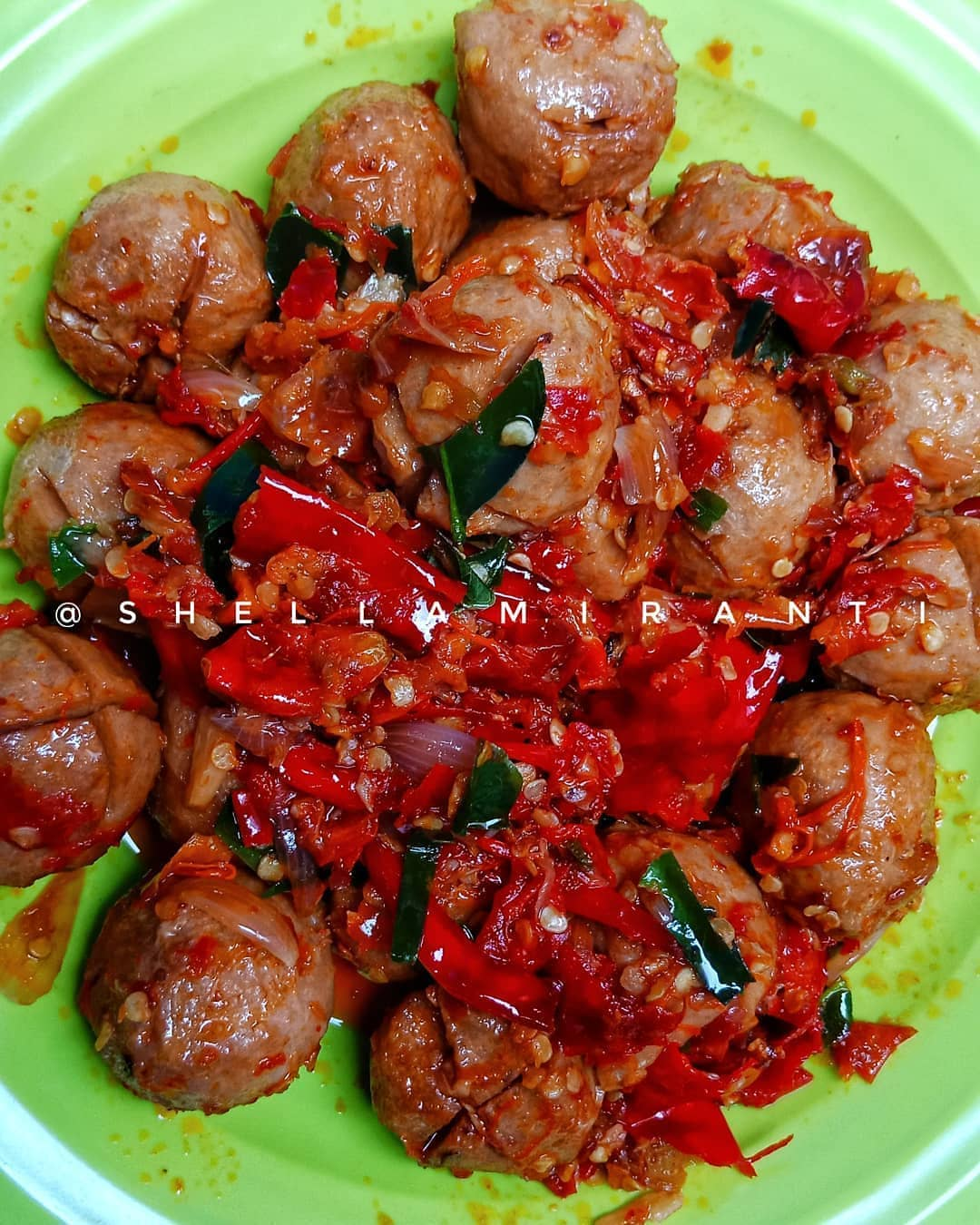 Cara Buat Bakso Mercon : bakso, mercon, Resep, Membuat, BAKSO, MERCON, Masakan, Bunda
