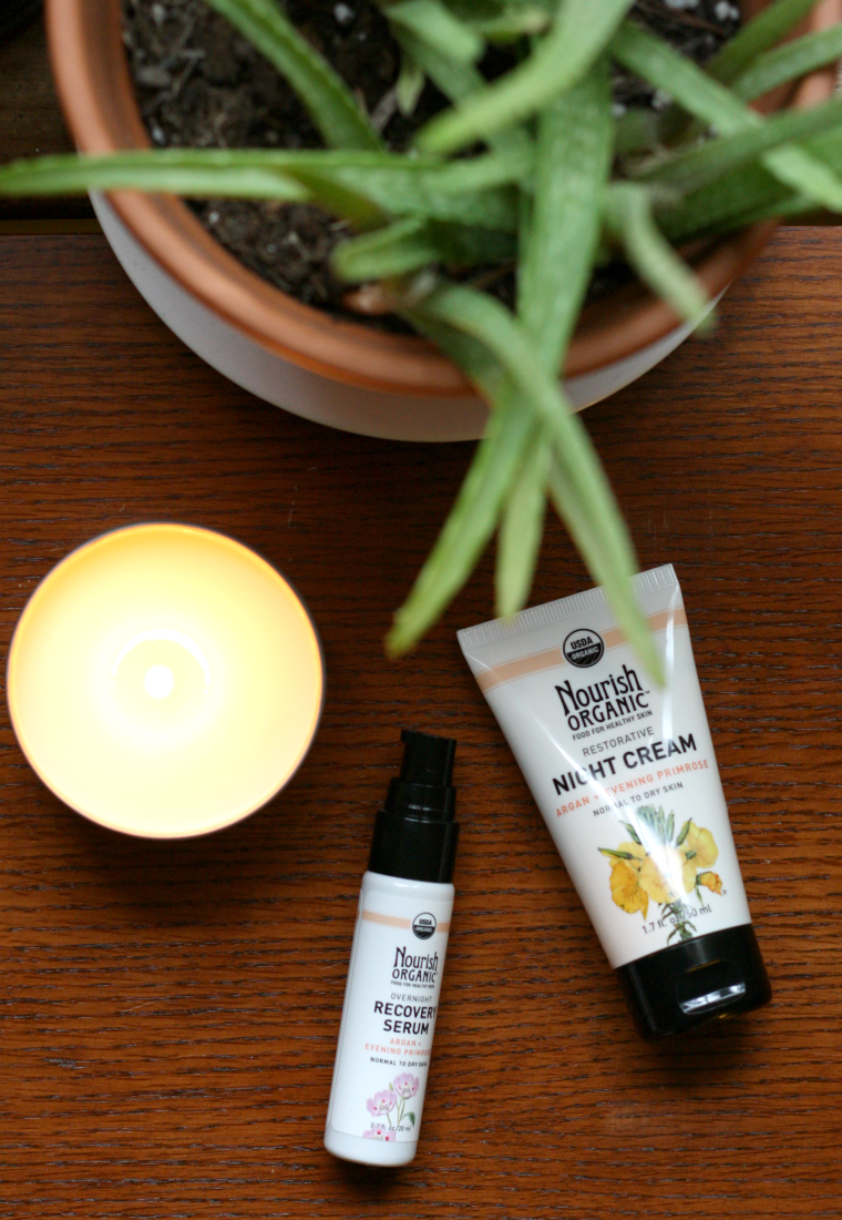 Nourish Organic Skincare serum review