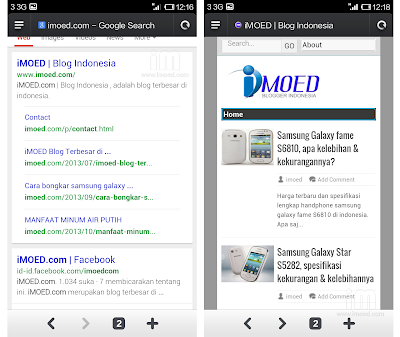 tampilan browser bawaan xiaomi redmi - pramud.com