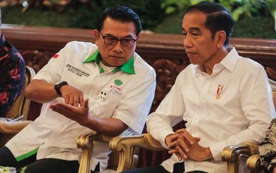 Heran Jokowi Tak Pernah Evaluasi Sikap Moeldoko, Pengamat: Ideologi Jokowi Sendiri Gak Jelas, Penuh Kontradiksi!