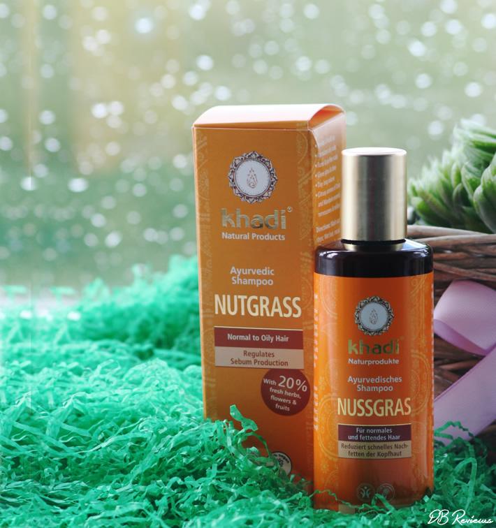 Khadi Nutgrass Ayurvedic Shampoo