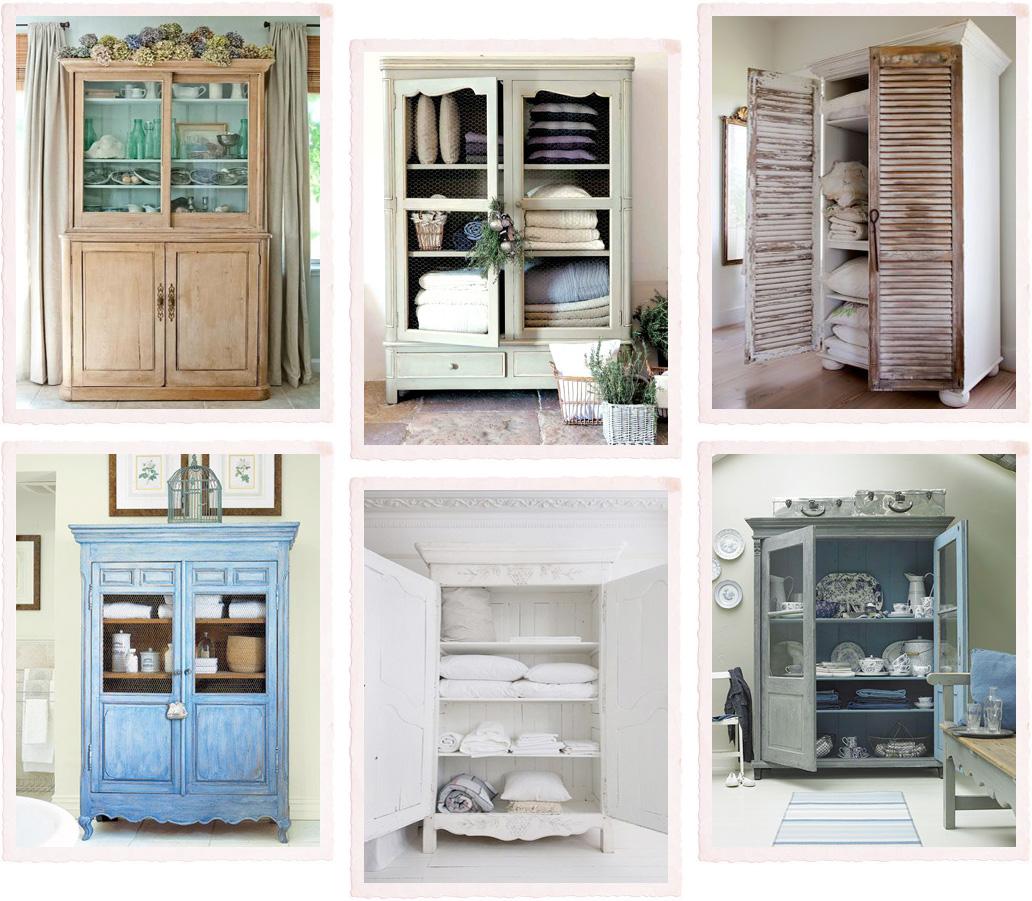 Un armadio, tante funzioni - Shabby Chic Interiors