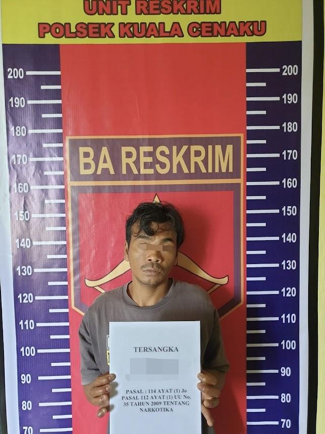 Sedang Membeli Rokok, Pria di Kucen Ditangkap Polisi