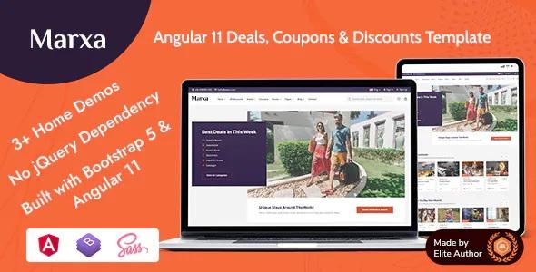 Best Deals Coupons & Discounts Template
