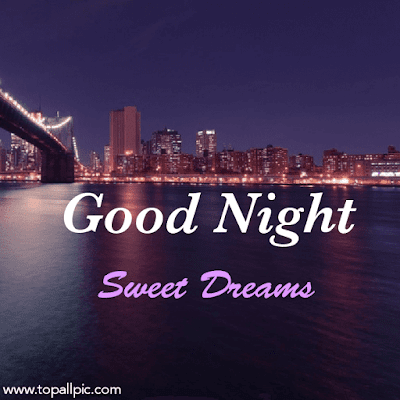 wishes good night sweet dreams with love for her