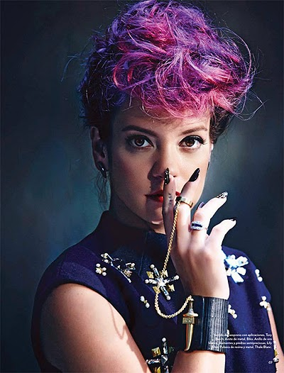 Lily Allen Photoshoot Magazine
