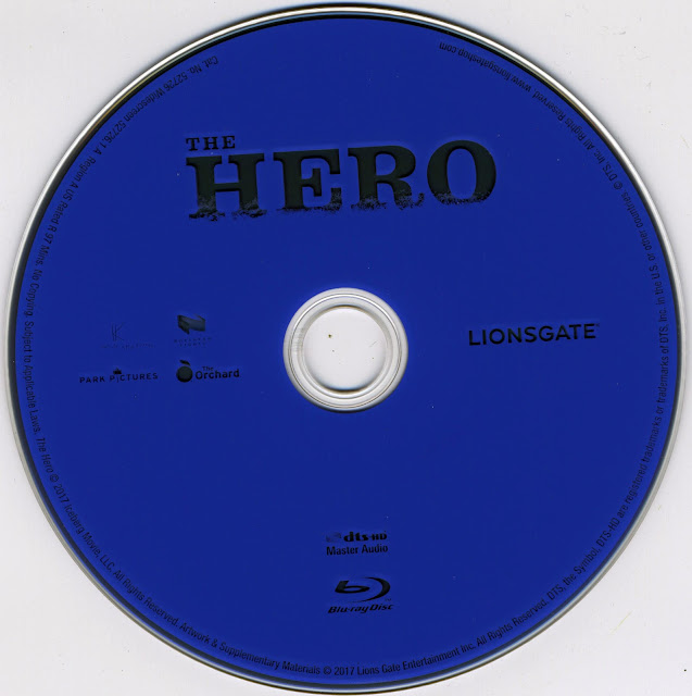 The Hero Bluray Label