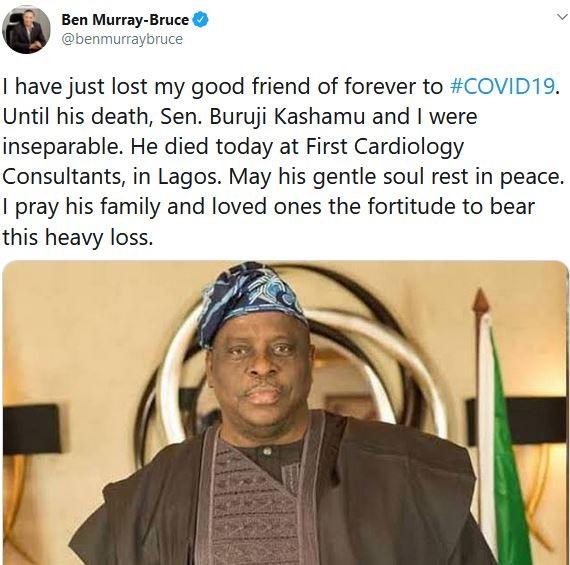 BREAKING: Senator Buruji Kashamu Is Dead