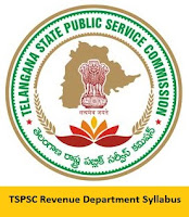 TSPSC Revenue Department Syllabus