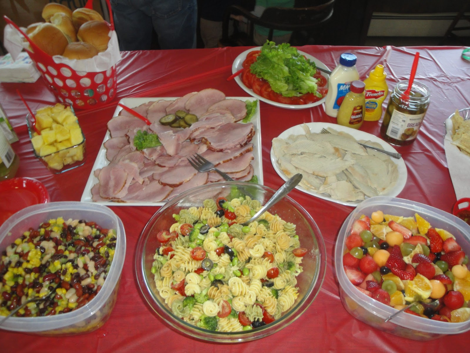 Luau Birthday Food Ideas