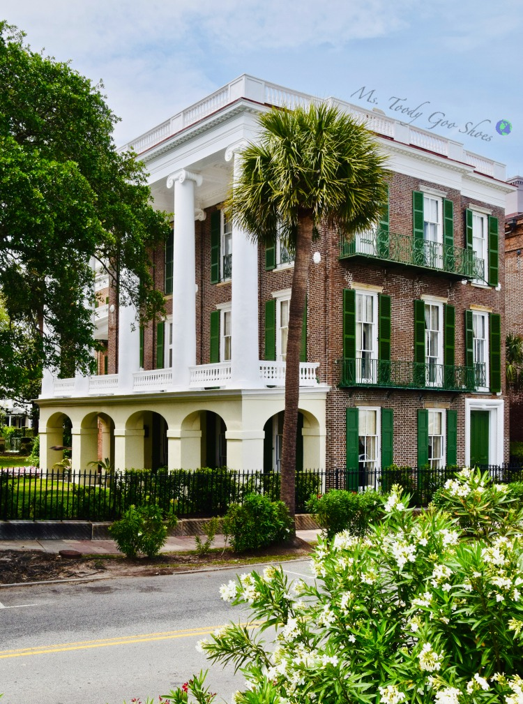 10 Things To Do In Charleston: #5 - See Roper House | Ms. Toody Goo Shoes #Charleston