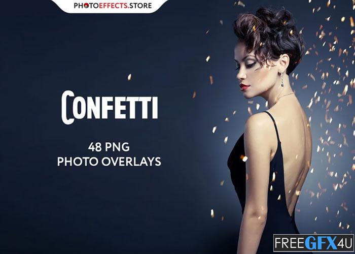 48+ Confetti Photo Overlays