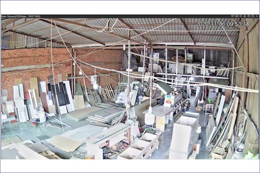 lắp camera quan sát cho xưởng sản xuất nội thất