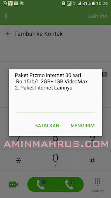 telkomsel 15rb 1,2gb