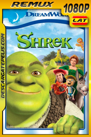 Shrek (2001) 1080p BDRemux Latino – Ingles