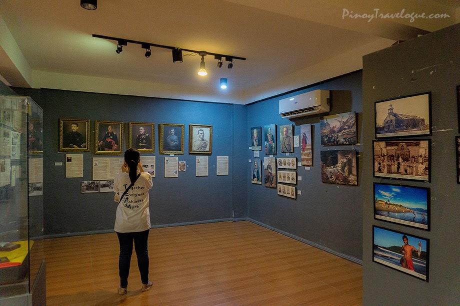 Wall photographs depicting Baler's rich history