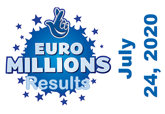 EuroMillions Results for Friday, July 24, 2020