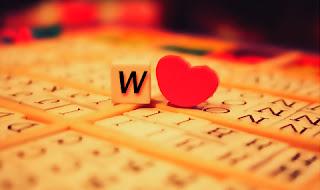 صور حروف خلفيات رومانسية مكتوب عليها حرف w