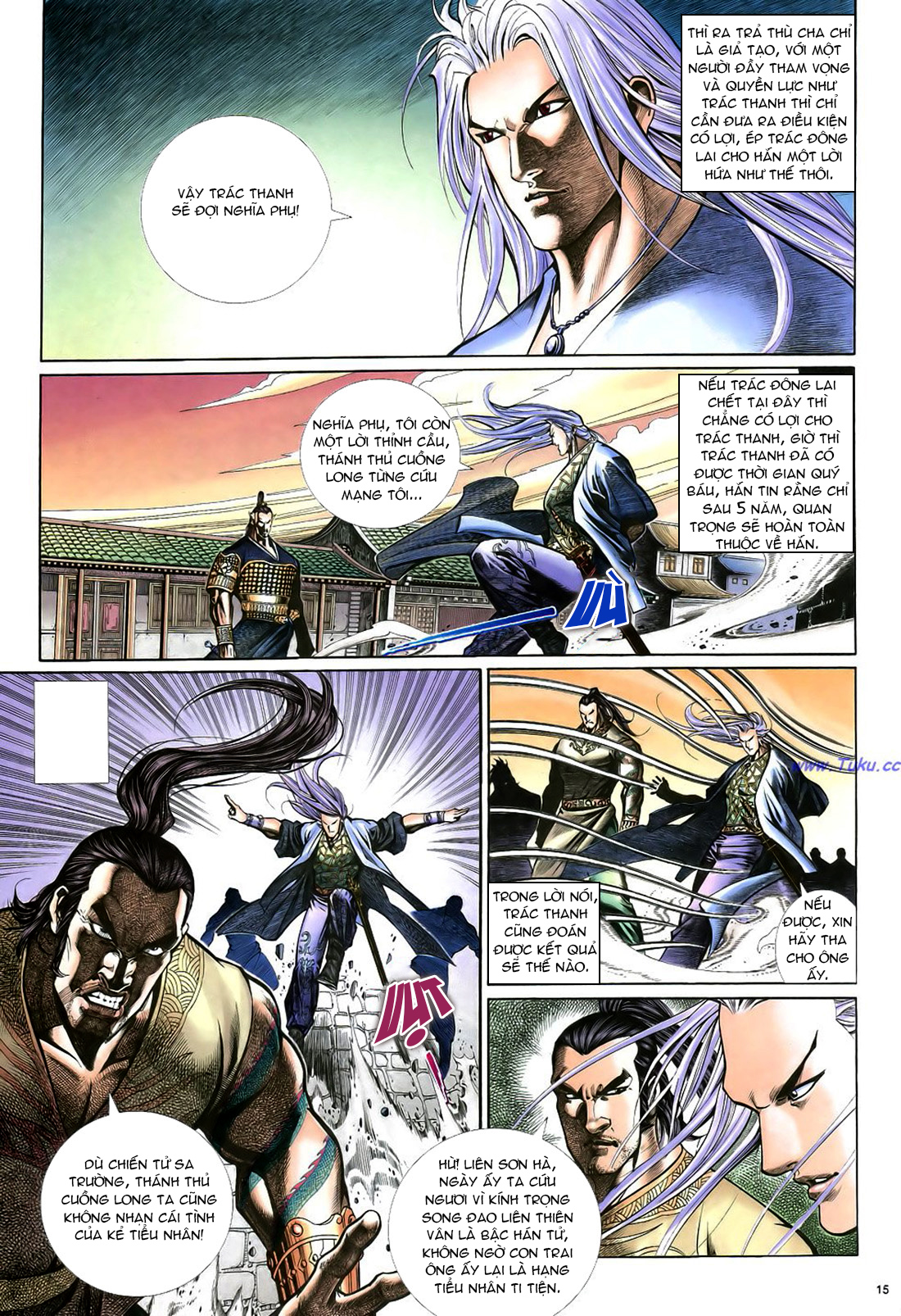 Anh hùng vô lệ Chap 22 trang 16