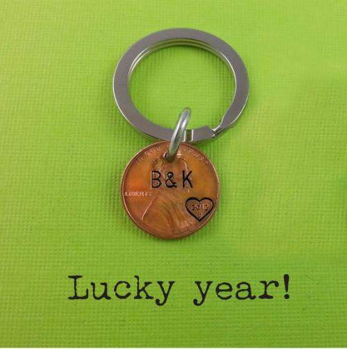 Lucky Year Keychain