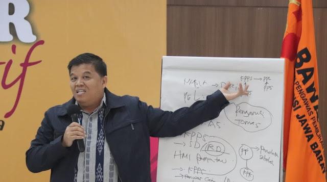Dari Cianjur, Syamsuddin Tanamkan Nilai Integritas ke Peserta Sekolah Pengawasan Partisipatif