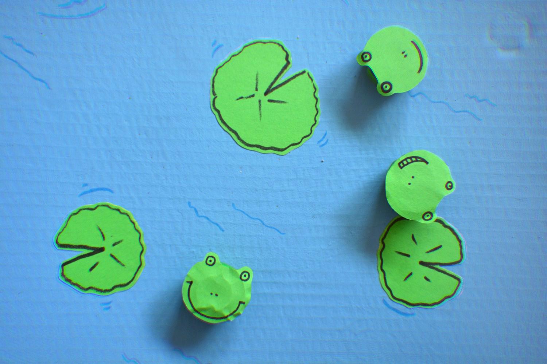 DIY: gra skaczące żabki 🐸