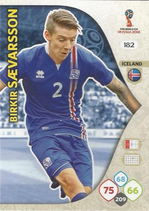 ae29b9ceb Panini - Adrenalyn XL FIFA World Cup 2018 Russia (13) - 181-189 - Iceland